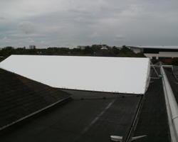 Dachplane aus PVC-hochfestgewebe