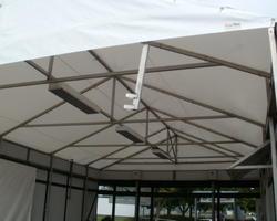 Dachplanen aus PVC Innenansicht