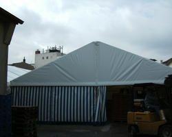 Dachplane und Seitenvorhänge aus PVC-hochfestgewebe