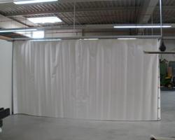 Industrievorhang / Raumteiler