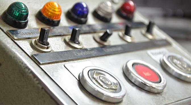 Details einer Maschine